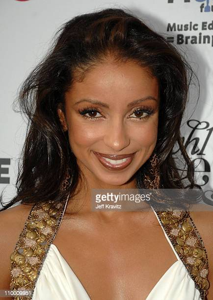Singer Mya arrives at VH1's Save The Music 10th Anniversary Gala at The Tent at Lincoln Center on September 20 2007 in New York City