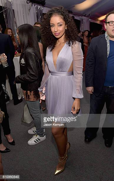 Singer Mya attends the Primary Wave 10th Annual PreGrammy Party at The London West Hollywood on February 14 2016 in West Hollywood California