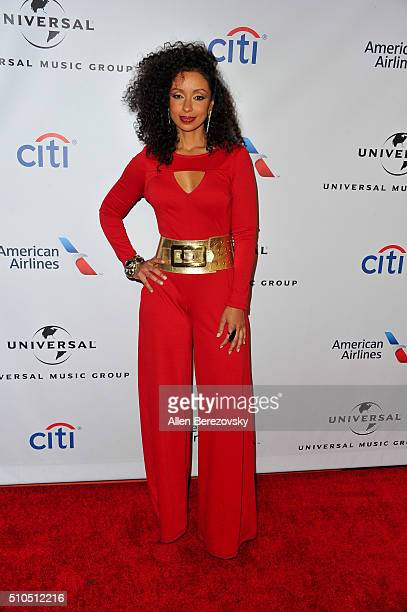 Singer Mya attends Universal Music Group's 2016 GRAMMY After Party at The Theatre At The Ace Hotel on February 15 2016 in Los Angeles California