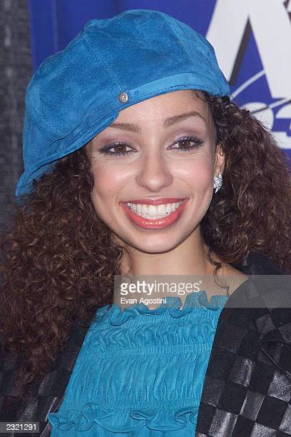 Singer Mya backstage at 'KTU's Miracle On 34th Street' holiday concert at Madison Square Garden in New York City. . Photo: Evan Agostini/ImageDirect