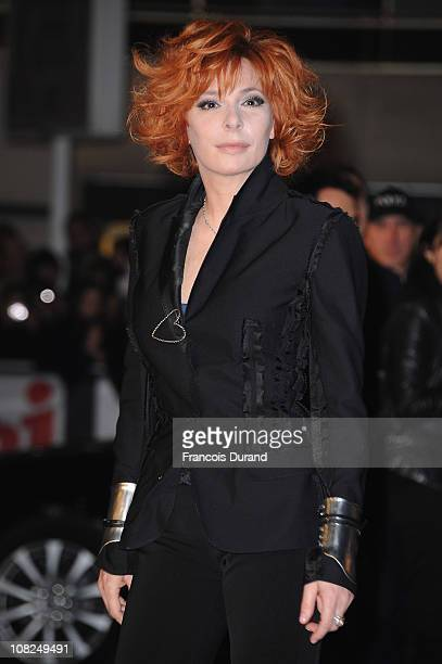 Singer Mylene Farmer attends the NRJ Music Awards 2011 on January 22 2011 at the Palais des Festivals et des Congres in Cannes France