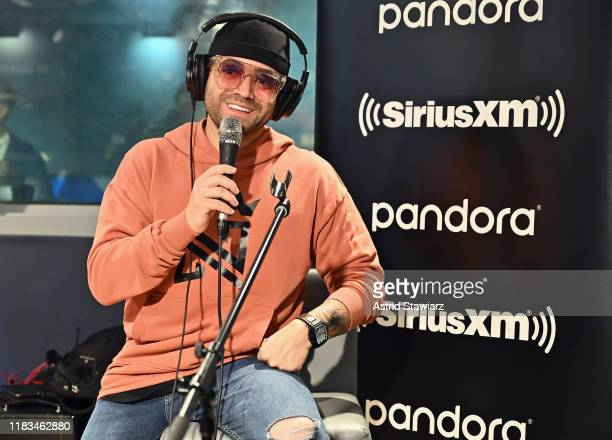 Singer Nacho performs for SiriusXM's Caliente at SiriusXM Studios on October 25, 2019 in New York City.