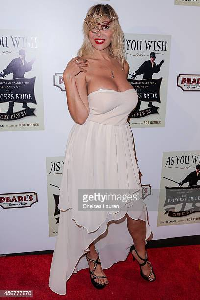 Singer Nadeea attends the As You Wish book launch party at Pearl's Liquor Bar on October 6 2014 in Hollywood California