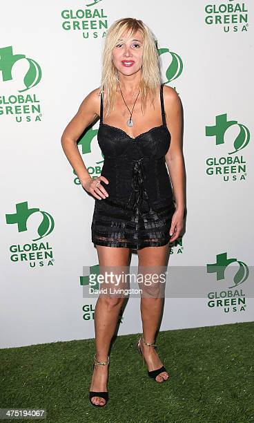 Singer Nadeea Volianova attends Global Green USA's 11th Annual PreOscar Party at Avalon on February 26 2014 in Hollywood California