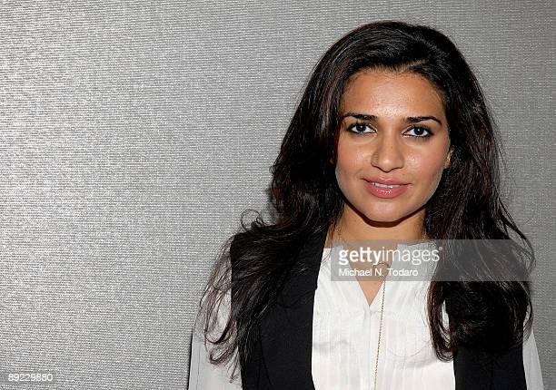Singer Nadia Ali attends the SheBlogscom launch party at Saks Fifth Avenue July 23 2009 in New York City