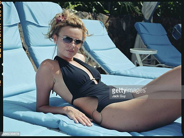 Singer Nadine Coyle are photographed OK Magazine UK in 2007 in Los Angeles California