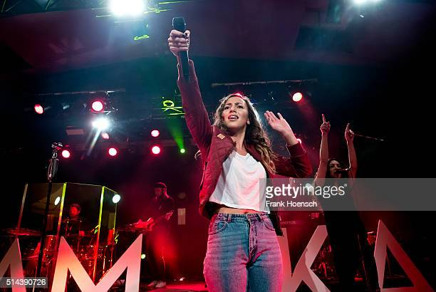 Singer Namika performs live during a concert at the Astra on March 8 2016 in Berlin Germany