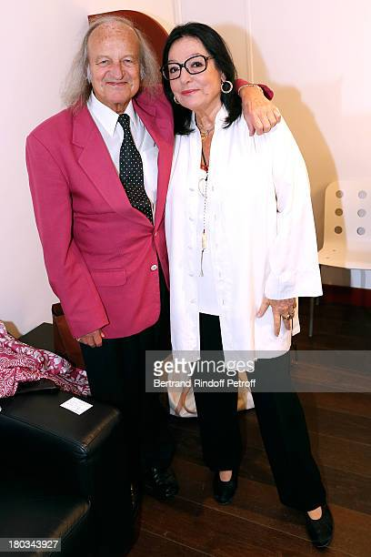 Singer Nana Mouskouri 79 years old will start a new world tour in november of 2013 and her husband Andre Chapelle attend 'Vivement Dimanche' French...