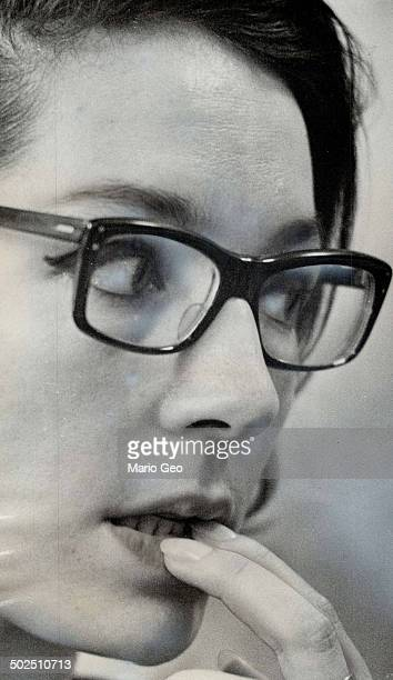 Singer Nana Mouskouri Are the glasses a showbusiness gimmick
