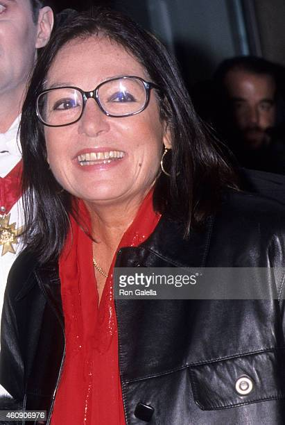 Singer Nana Mouskouri attends the Trick or Treat for UNICE' 50th Anniversary Gala on October 23 2000 at the Metropolitan Pavilion in New York City