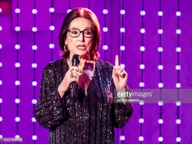 Singer Nana Mouskouri during the TV Show Hit Champions Great party of the best at the Velodrom in Berlin Germany 7 January 2017 Photo Andreas...