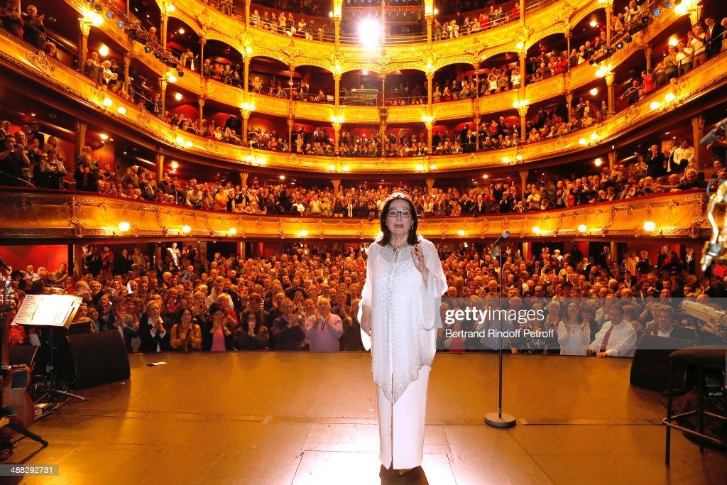 Nana Mouskouri On Happy Birthday Tour In Paris