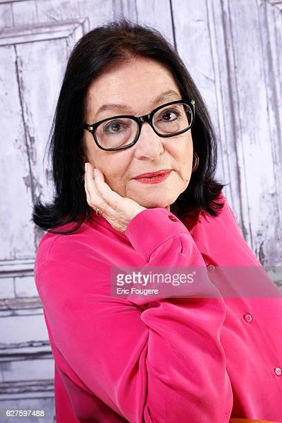 Singer Nana Mouskouri Photographed in PARIS
