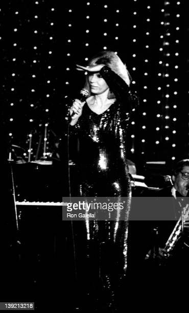 Singer Nancy Sinatra attends Frank and His Friends Valentine Love-In II on February 12, 1983 at the Canyon Hotel in Palm Springs, California.