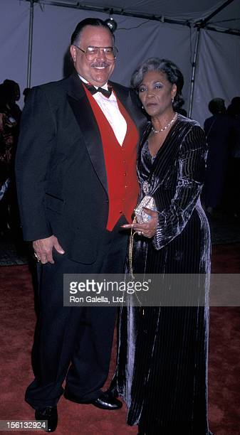 Singer Nancy Wilson and husband Wiley Burton attend the 29th Annual NAACP Image Awards on February 14 1998 at the Pasadena Civic Auditorium in...