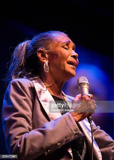 Singer Nancy Wilson Preforms At The 51St Monterey Jazz Festival Monterey California