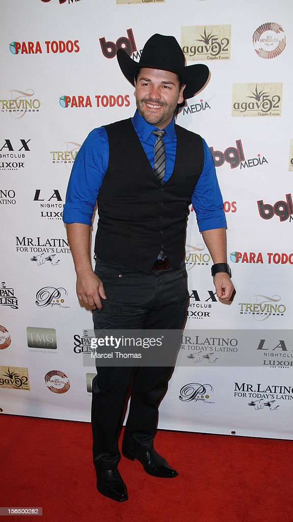 Singer Nash attends the 13th Annual Latin GRAMMY Awards After-party at LAX Nightclub on November 15, 2012 in Las Vegas, Nevada.