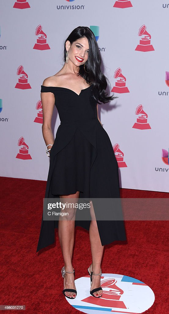 Singer Natalia Jimenez attends the 16th Annual Latin GRAMMY Awards at the MGM Grand Garden Arena on November 19, 2015 in Las Vegas, Nevada.