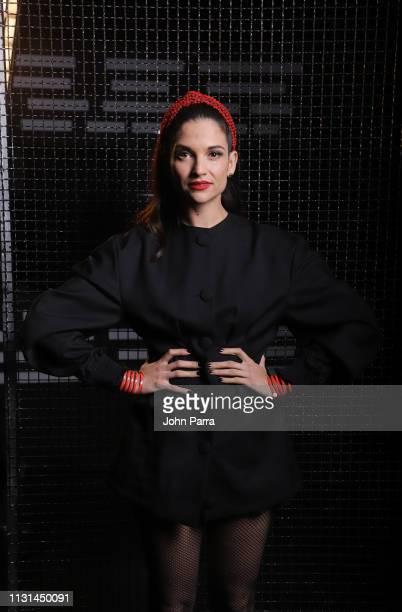 Singer Natalia Jiménez poses for a portrait on March 14 2019 in Miami Florida