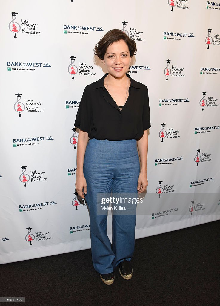 Latin GRAMMYS In The Schools With Natalia Lafourcade