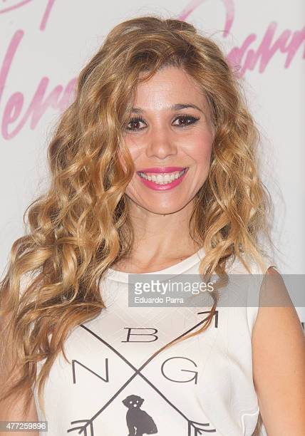 Singer Natalia Rodriguez attends 'By Nerea' 1st Anniversary photocall at COAM on June 15 2015 in Madrid Spain
