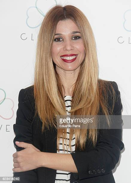 Singer Natalia Rodriguez attends the 'Clover' photocall at Oscar hotel on November 15 2016 in Madrid Spain