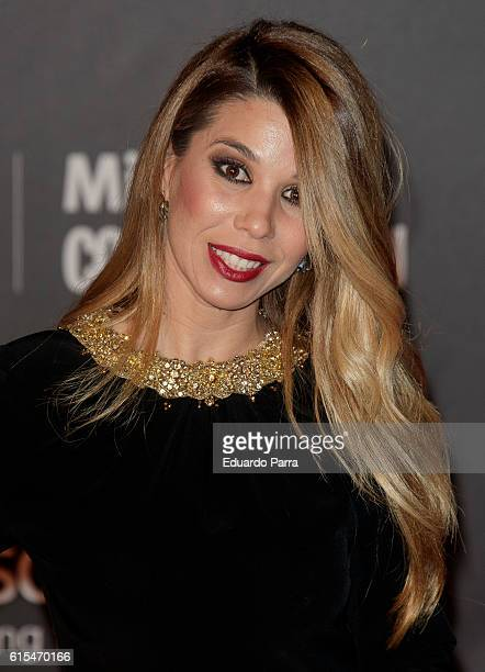 Singer Natalia Rodriguez attends the 'Cosmopolitan Fun Fearless Female' awards 2016 at La Riviera Disco on October 18 2016 in Madrid Spain