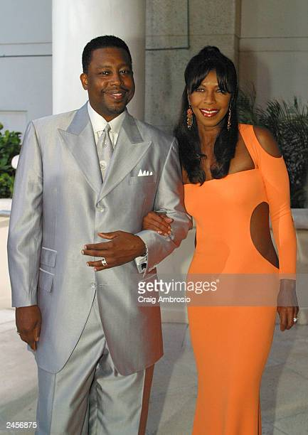 Singer Natalie Cole and husband Kenneth Dupree arrive at The 2003 Latin Recording Academy Person Of The Year honoring the accomplishments of Grammy...