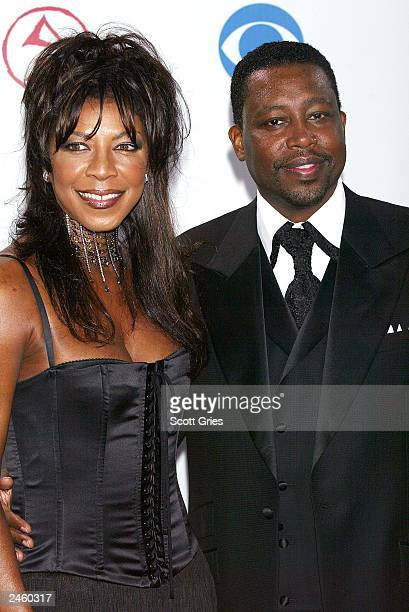 Singer Natalie Cole and husband Kenneth Dupree arrive at the 4th Annual Latin Grammy Awards at the AmericanAirlines Arena on September 3 2003 in...