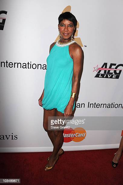 Singer Natalie Cole arrives at the 52nd Annual GRAMMY Awards Salute To Icons Honoring Doug Morris held at The Beverly Hilton Hotel on January 30 2010...