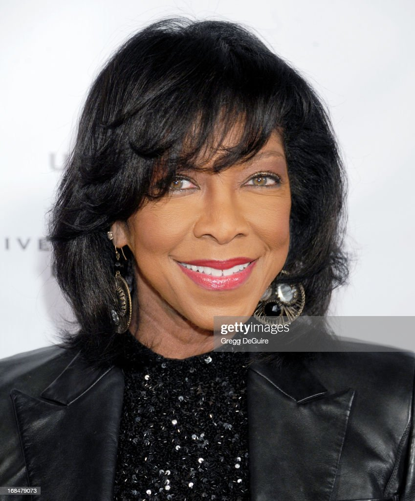 Singer Natalie Cole arrives at the NARM Music Biz Awards dinner party at the Hyatt Regency Century Plaza on May 9, 2013 in Century City, California.