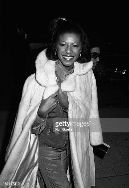Singer Natalie Cole attends 21st Annual Grammy Awards on September 15 1979 at the Shrine Auditorium in Los Angeles California
