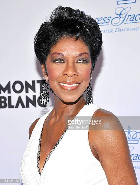 Singer Natalie Cole attends the 2011 Princess Grace Awards Gala at Cipriani 42nd Street on November 1 2011 in New York City