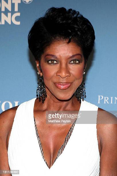 Singer Natalie Cole attends the Princess Grace Awards Gala at Cipriani 42nd Street on November 1 2011 in New York City