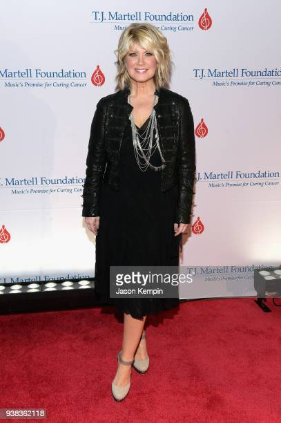 Singer Natalie Grant attends the 10th Annual TJ Martell Foundation Nashville Honors Gala at Omni Hotel on March 26 2018 in Nashville Tennessee