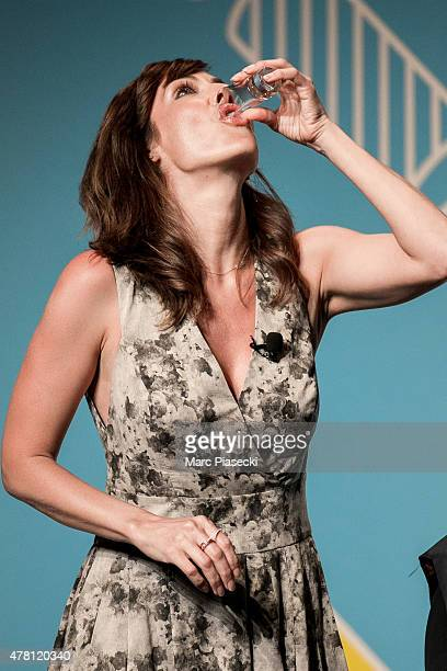Singer Natalie Imbroglia attends the 'Cannes Lions Festival' on June 22 2015 in Cannes France