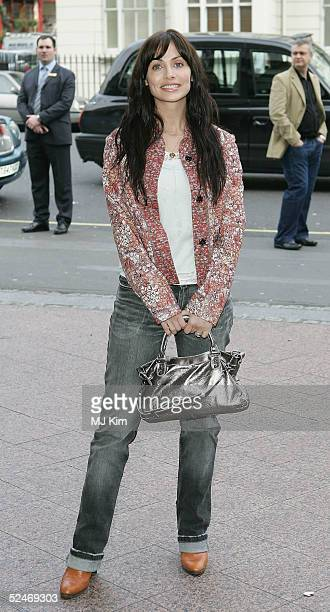 Singer Natalie Imbruglia arrives at the Capital FM Awards 2005 at the Royal Lancaster Hotel on March 23 2005 in London The annual awards in aid of...