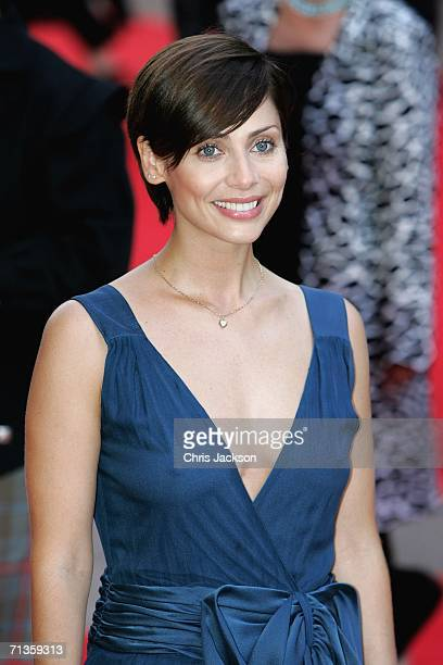 Singer Natalie Imbruglia arrives at the Premiere of 'Pirates Of The Caribbean Dead Mans Chest' European Premiere on July 3 2006 in London England
