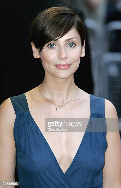 Singer Natalie Imbruglia arrives for the European Premiere of 'Pirates Of The Caribbean Dead Man's Chest' at the Odeon Leicester Square on July 3...
