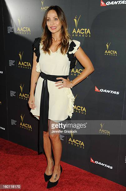 Singer Natalie Imbruglia attends the 2nd Annual AACTA International Awards held at the Soho House on Saturday January 26 2013 in West Hollywood...