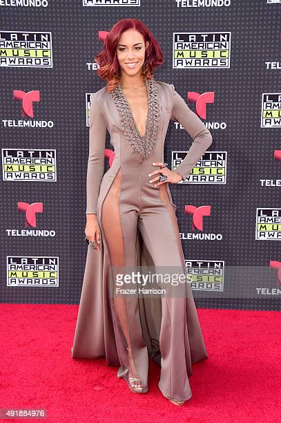 Singer Natalie La Rose attends Telemundo's Latin American Music Awards at the Dolby Theatre on October 8 2015 in Hollywood California