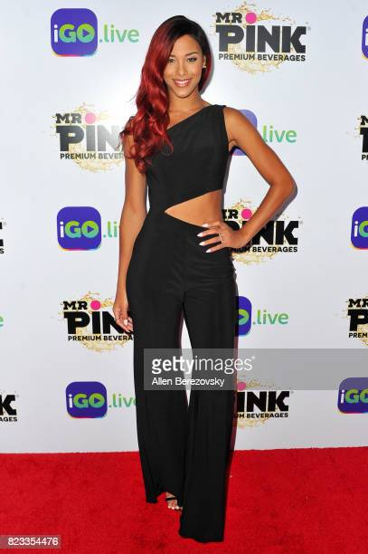 Singer Natalie La Rose attends the iGo.live Launch Event at the Beverly Wilshire Four Seasons Hotel on July 26, 2017 in Beverly Hills, California.
