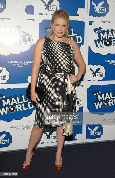 """Singer Natalie Maines arrives at American Eagle Outfitters Launch of the Original Series """"It's A Mall World"""" Directed By Milo Ventimiglia at the..."""