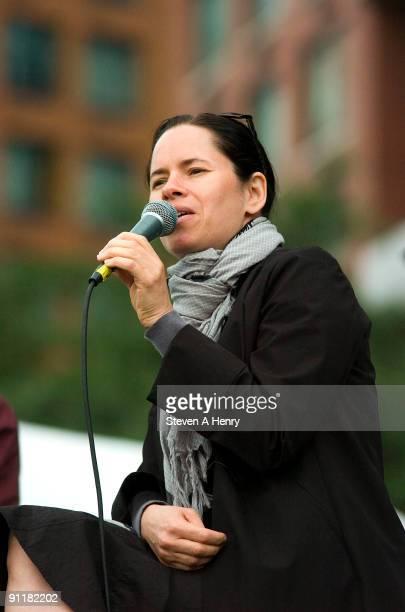 Singer Natalie Merchant performs at Poets House on September 26 2009 in New York City