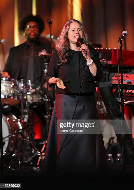 Singer Natalie Merchant performs during the 8th Annual Clinton Global Citizen Awards at Sheraton Times Square on September 21 2014 in New York City