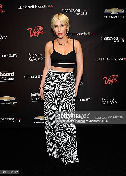 Singer Natasha Bedingfield arrives at the official preparty for the 2014 Billboard Music Awards at Hyde Bellagio at the Bellagio on May 17 2014 in...