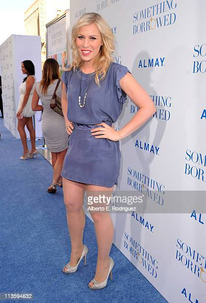 Singer Natasha Bedingfield arrives at the premiere of Warner Bros Something Borrowed held at Grauman's Chinese Theatre on May 3 2011 in Hollywood...