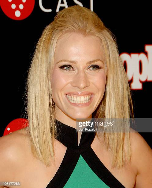Singer Natasha Bedingfield arrives to the Verizon Wireless People Magazine's PreGrammy Party at Avalon Hollywood on February 8 2008 in Hollywood...
