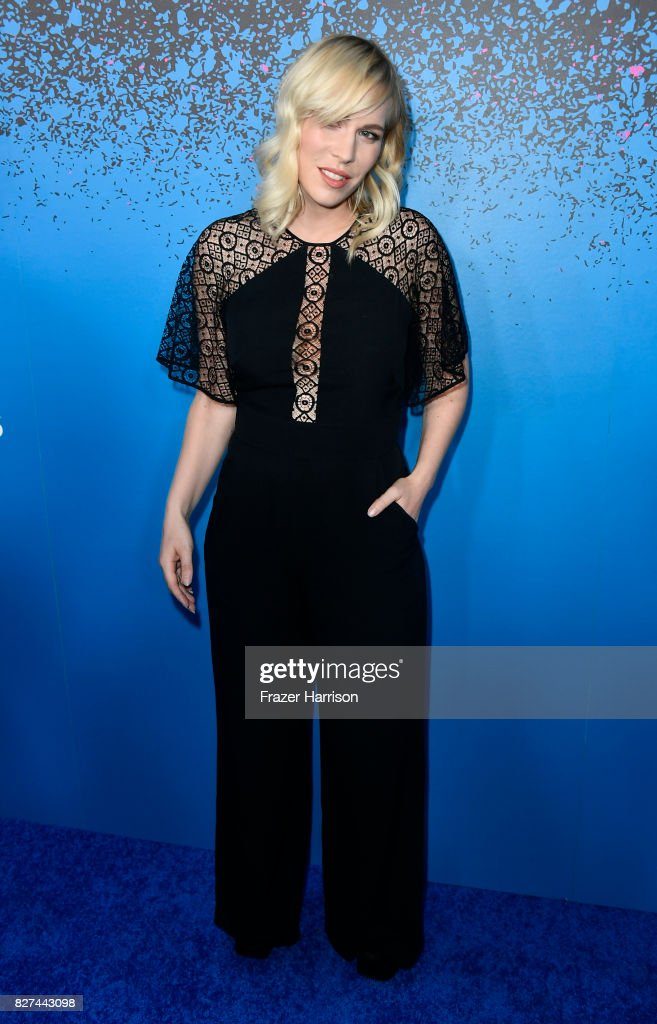 Singer Natasha Bedingfield attends 'Carpool Karaoke: The Series' On Apple Music Launch Party at Chateau Marmont on August 7, 2017 in Los Angeles, California.