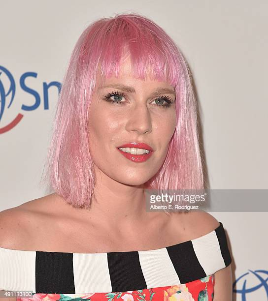 Singer Natasha Bedingfield attends Operation Smile's 2015 Smile Gala at the Beverly Wilshire Four Seasons Hotel on October 2 2015 in Beverly Hills...